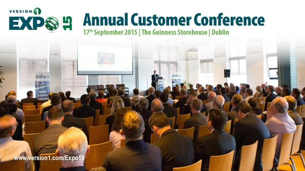 Expo15: Version 1 Annual Customer Conference