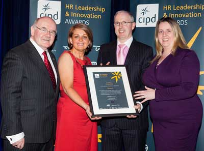 Version 1 Wins CIPD HR Leadership and Innovation Award