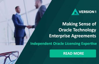 making sense of Oracle Enterprise Licensing Agreements