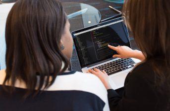 2 women developers